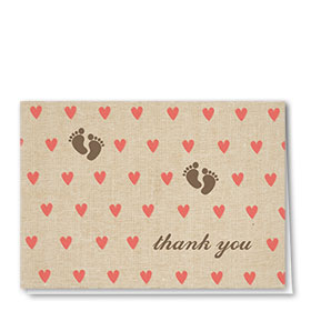 Full-Color Medical Thank You Cards - Tiny Hearts