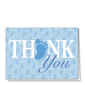 Full-Color Medical Thank You Cards - Thank You Toes