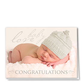 Full-Color Medical Congratulations Cards - Cozy Congrats