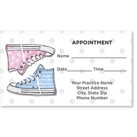 Medical Appointment Cards - High Top
