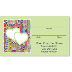 Medical Appointment Cards - Painterly