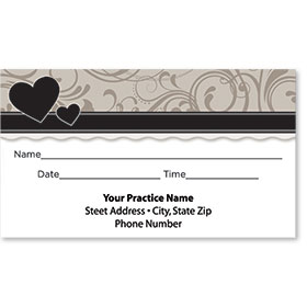 Medical Appointment Cards - Somber Shades