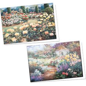 Full-Color Appointment Card Assortment-Gazebo & Rose Garden