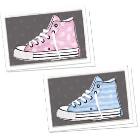 Full-Color Medical Appointment Card Assortment - High Tops