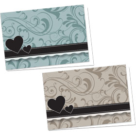 Full-Color Appointment Card Assortment-Somber Shades
