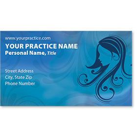 Medical Business Cards - Blue Harmonies