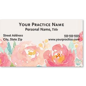 Business Card-Modern Floral
