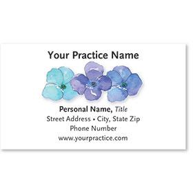 Medical Business Cards - Violets