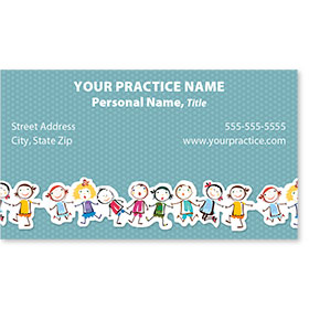 Medical Business Cards - Kids Line Up