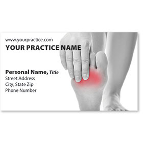 Medical Business Cards - No Ache