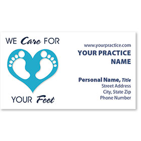 Medical Business Cards - Foot Love