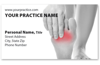 Medical Business Cards w/ Appointment - No Ache