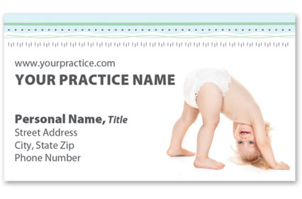 Medical Business Cards w/ Appointment - Baby Surprise