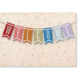 Standard Medical Welcome Postcards - Welcome Note