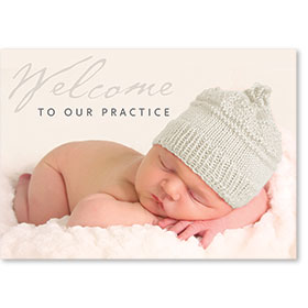 Standard Postcard-Welcome Baby