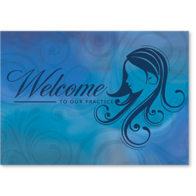 Standard Medical Welcome Postcards - Softhearted Welcome