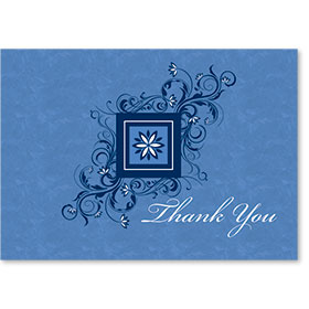 Standard Medical Thank You Postcards - Blossoming Thanks