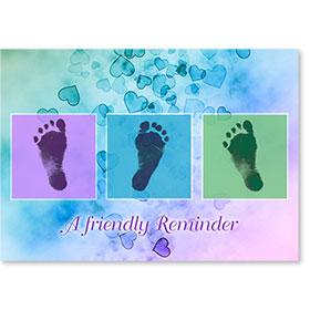 Standard Medical Postcards - Little Feet