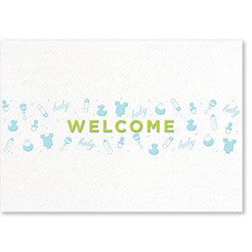 Standard Medical Welcome Postcards - Tiny Designs