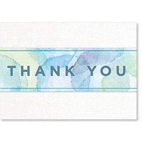 Standard Postcard-Watercolor Thank You