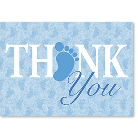 Standard Postcard-Thank You Toes