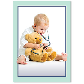 Standard Medical Postcards - Teddy Bear Check-Up