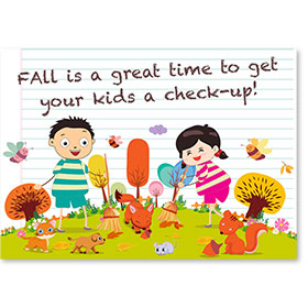 Standard Medical Postcards - Fall Check-Up