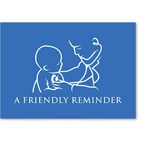 Standard Postcard-Classic Reminder