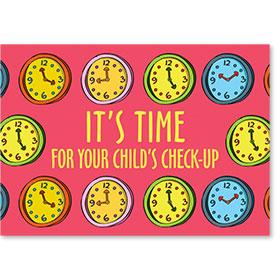 Standard Postcard-Reminder Clock