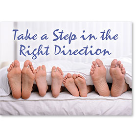 Standard Postcard-Family Feet