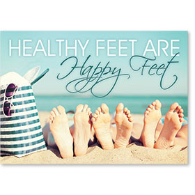 Standard Medical Postcards - Beach Feet