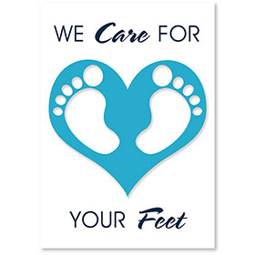Standard Medical Postcards - Foot Love