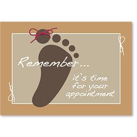 Standard Postcard-Tie Reminder
