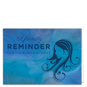 Fold-over Medical Postcards - Blue Harmonies