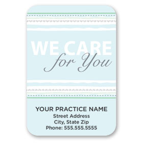 Full-Color Medical Business Card Magnets - White Grapes