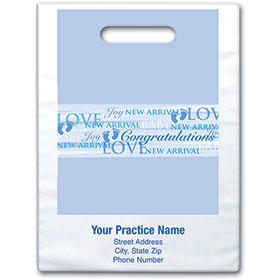 "Personalized Medical Supply Bags - 9"" X 13"" - Design 01D"