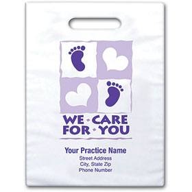 "Personalized Medical Supply Bags - 9"" X 13"" - Design 03D"