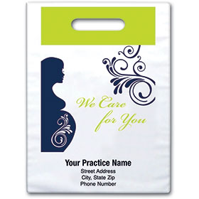 "Personalized Medical Supply Bags  -  9"" X 13"" - Design 06D"