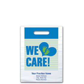 "Personalized Medical Supply Bags - 7.5"" x 9"" - Design 02D"