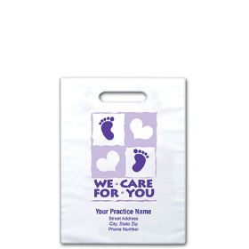 "Personalized Medical Supply Bags - 7.5"" x 9"" - Design 03D"