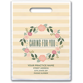 "Personalized Medical Supply Bags - 9"" X 12"" - Design 21D"