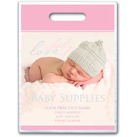 "Personalized Medical Supply Bags - 9"" X 12"" - Design 22D"
