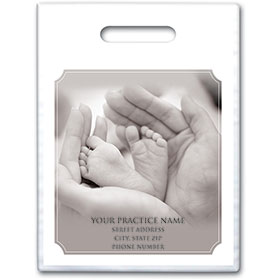 "Personalized Medical Supply Bags - 9"" X 12"" - Design 23D"