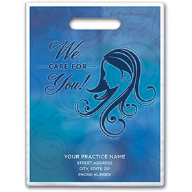 "Personalized Medical Supply Bags - 9"" X 12"" - Design 25D"