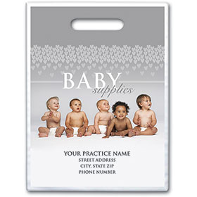 "Personalized Medical Supply Bags - 9"" X 12"" - Design 26D"