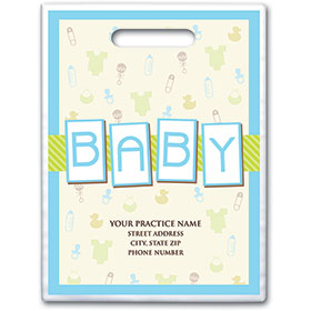 "Personalized Medical Supply Bags - 9"" X 12"" - Design 27D"