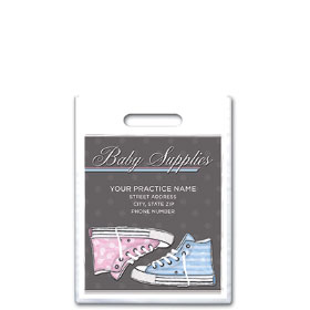 """Personalized Medical Supply Bags - 7.5"""" x 9"""""""