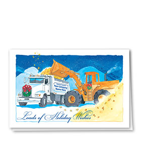 Construction Christmas Cards - Starlit Gravel