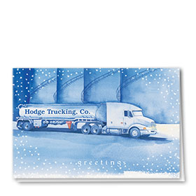 Trucking Christmas Cards - Starlight Tanker