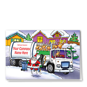 Trucking Christmas Cards - The Santa Incident